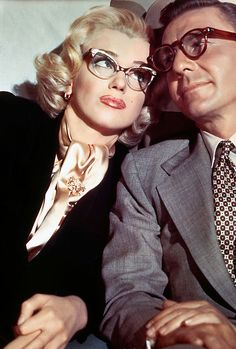 Marilyn Monroe and David Wayne in How to Marry a Millionaire (1953)