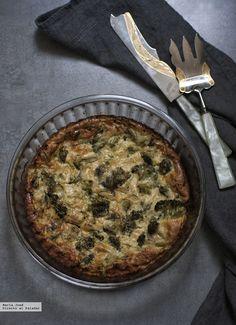 Te explicamos paso a paso, de manera sencilla, la elaboración de la receta de Frittata de brócoli con hierbas aromáticas. Ingredientes, tiempo de elaboración