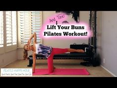 Butt Lift and Slim Thighs Pilates Workout At Home - YouTube