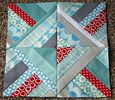 October Quilt Block Tutorial on 107 Quilts at http://www.107quilts.com/2011/09/sew-modern-bee-october-tutorial-string.html