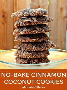 Coconut cookies   Gluten-free cookies   Cinnamon cookies   Paleo cookies