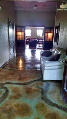 160 best acid stained concrete floors images in 2019 acid stained rh pinterest com