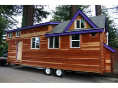 PERFECT, PERFECT, PERFECT! http://tinyhouselistings.com/redwood-tiny-house/  355 sq. ft, 2 BR, double axle. The home dimensions are 27 feet long by 9 feet wide by 13 feet 5 inches tall.