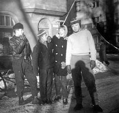 """""""Vuonna 1958 'jengielämää': tupakkaa kyllä, viina ei"""", Liisa Jouttimäki kertoo."""