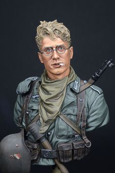 German 6th Army, Stalingrad 1942 (1/10 LIFE MINIATURES) by yoon · Putty&Paint