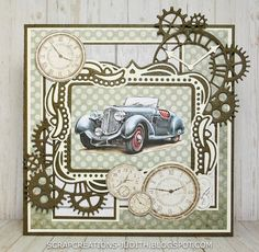 scrapcreations-judith Happy Birthday Cards Handmade, Masculine Birthday Cards, Birthday Cards For Men, Masculine Cards, Art Deco Cards, Spellbinders Cards, Boy Cards, Fathers Day Cards, Get Well Cards
