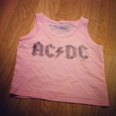 6 to 12 month baby size AC/DC shirt