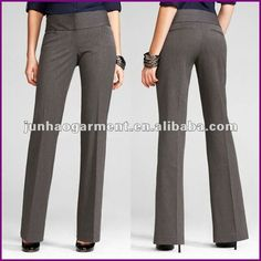 Love the high waist band! Nice color too. Work Fashion, Urban Fashion, Office Fashion, Office Outfits, Casual Outfits, Fashion Vestidos, Professional Dresses, Business Attire, Work Attire