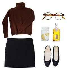 """""""Untitled #1866"""" by girlinlondon ❤ liked on Polyvore featuring Uniqlo, Fendi, François Pinton, Sur La Table and Guerlain"""