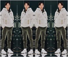 Gong Yoo, Winter Jackets, Coat, Fashion, Winter Coats, Moda, Sewing Coat, Winter Vest Outfits, Fashion Styles