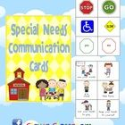 Special Needs/Education Pocket Communication Cards - PDF file7 page, printable resource.These cards are a must when working with special needs ...