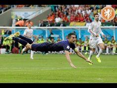 Samenvatting Spanje-Nederland 1-5 #WK2014. Een onwerkelijke start van oranje tegen de wereldkampioen.