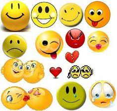 Express emotions-the smiley way!