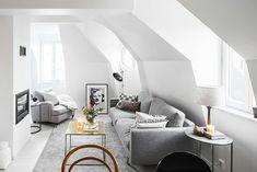 How to Make Scandinavian Living Room Decoration? Living Room Grey, Small Living Rooms, Living Room Furniture, Modern Living, Living Area, Scandinavian Living, Scandinavian Design, White Wood Floors, Living Room Decor Inspiration