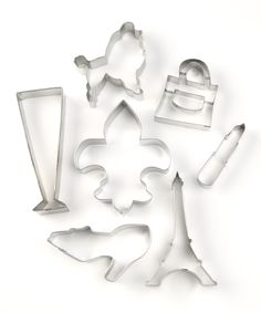 Paris Cookie Cutter Set