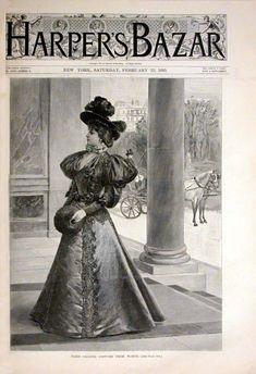 Harper's Bazaar February 1895