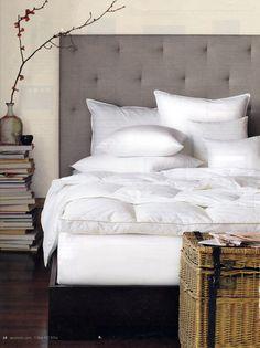 Chic Bedroom. West Elm