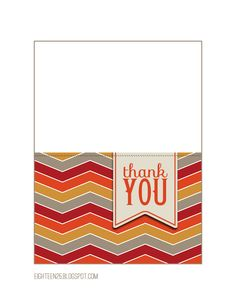 images about Free Printable Thank You Cards