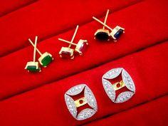 Fashionable SixInOne Changeable Zircon Earrings for Women, Best Anniversary Gift – Buy Indian Fashion Jewellery Fashion Jewellery, Indian Fashion, Women's Earrings, Anniversary Gifts, Amazing Women, Frame, Studs, Stuff To Buy, Jewelry
