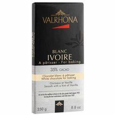 Valrhona Ivoire 35% Baking Bar