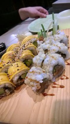 Crunchy Tuna Yellow Submarine Roll Moriki FFM