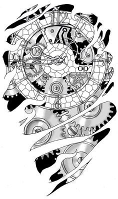 Image detail for -Gears And Clockwork By Noxiousliving On DeviantART