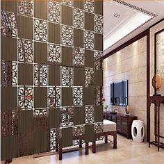 29X29CM Fashion Entranceway Fashion Compartmentation Hanging Wooden Carvedu2026