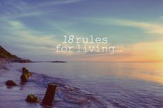 Dalai Lama's 18 Rules for Living