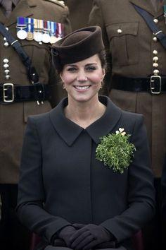 Kate Middleton Photos: Royal Couple Celebrates St. Patrick's Day