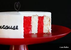 One day. One day you'll successfully make a sideways layered cake.