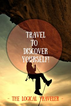 Go discover yourself! Feeling Sad, How Are You Feeling, Discover Yourself, Travel Quotes, Self Love, Travel Tips, Finance, Beautiful Places, How To Get