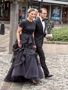 Queens & Princesses - Queen Silvia, Crown Princess Victoria, Prince Daniel, Princess Madeleine and Chris O'Neill attended a gala in honor of the 15th anniversary of the World Childhood Foundation in Stockholm.