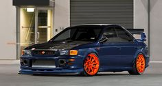 I'm not huge on the orange rims, but I still would roll this as is. This is my favorite of all of the GC8's.