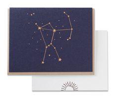 letterpress orion card