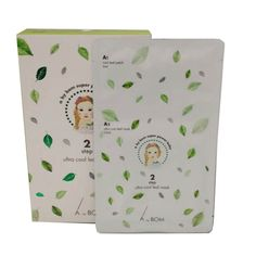 A.by BOM Super Power Baby 2 Step Ultra Cool Leaf Mask (6m+10ml) 10 Sheet #AbyBOM #333korea #skincare #beauty #koreacosmetics #cosmetics #oppacosmetics #cosmetic #koreancosmetics #masksheet #maskpack #facemask #facialmask