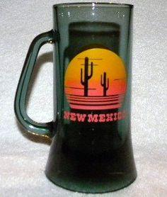 Vintage Retro New Mexico Glass Mug Olive Green Smoked Vintage New Mexico Mug http://www.amazon.com/dp/B00VNDQZV6/ref=cm_sw_r_pi_dp_Dn3hvb137X25N