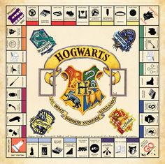 Image result for harry potter monopoly hogwarts edition