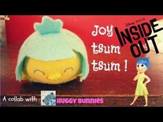DIY Joy Tsum Tsum Sock Plushie Tutorial