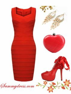 Now that is some red dress! I want it!!!