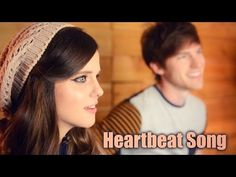 Kelly Clarkson - Heartbeat Song (Acoustic Cover) by Tiffany Alvord & Tanner Patrick - YouTube