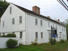 The Swett-Ilsley House in Newbury, Mass  circa 1670.  Over the years additions were made that more then doubled it in size from the original dwelling.