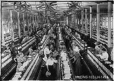 Industrial revolution: the rapid development of industry that occured in Britain which brought the intro to machines and factory