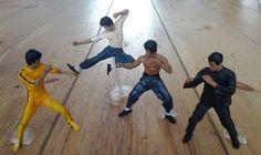 Bruce Lee figurines