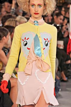 I'd like this sweater. MEADHAM KIRCHOFF SPRING 2012
