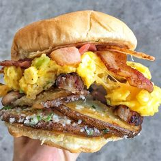 [Homemade] Breakfast Sandwich #food #foodporn #recipe #cooking #recipes #foodie #healthy #cook #health #yummy #delicious