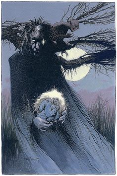 Dream by Charles Vess.