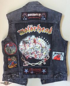 METAL SAVAGE's Motörhead, Iron Fist Battle Jacket | TShirtSlayer