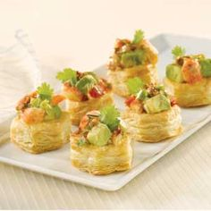 Pepperidge Farm® Puff Pastry: Chipotle Lobster Cups - http://www.puffpastry.com/recipe/50787/chipotle-lobster-tartlets
