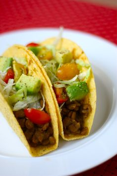 Slow Cooker Lentil Taco Filing Recipe