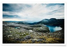 Fantastic Norway I - neon* fotografie - Premium Poster